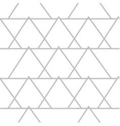 abstract geometric pattern with lines triangles vector image
