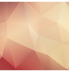 Autumn geometric shapes triangle plus EPS10 vector image