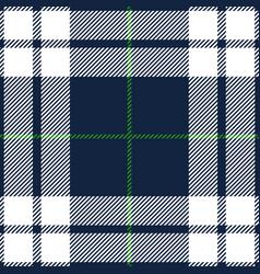 blue and green tartan plaid seamless pattern vector image