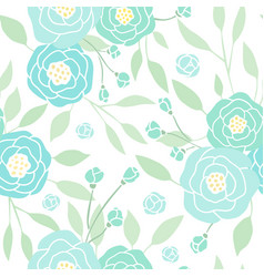 Blue flower background vector