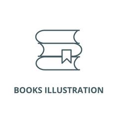 books line icon books vector image