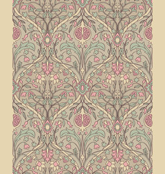 Floral pattern for wallpaper vector