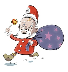 Good Santa vector image