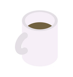 mug of tea icon isometric style vector image