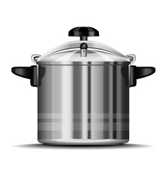 Pressure cooker for cooking vector