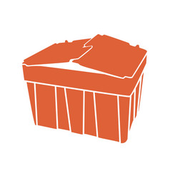 Tote-box-container vector