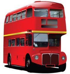 London double decker vector image vector image