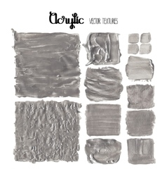 Acrylic textured rectangles vector image