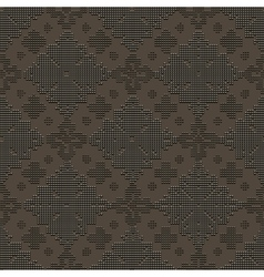 Delicate seamless classic pattern vector image