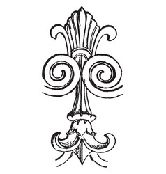 etruscan ornament is the art mainly belongs to vector image