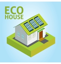 Green House concept vector