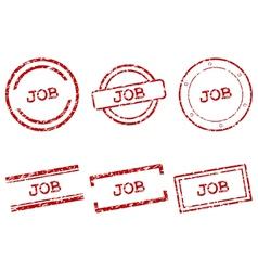 Job stamps vector