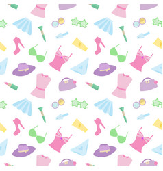 pattern clothes vector image