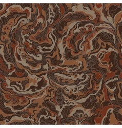 Pattern with the image texture of smoke chocolate vector