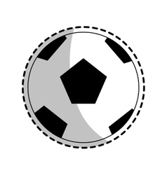 Soccer ball icon vector