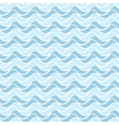Wavy geometric pattern - seamless background vector