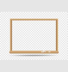 blackboard template transparent vector image