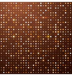 Disco background with dots vector image vector image