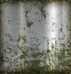 Metal polished plate vector image