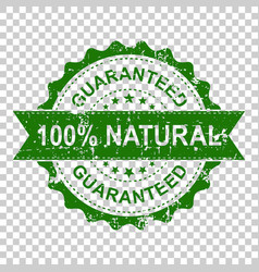 100 natural scratch grunge rubber stamp on vector