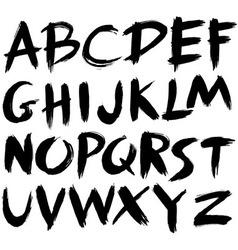 abc stroke vector image
