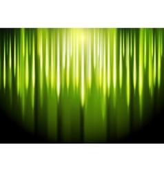 Bright green glowing backdrop Gradient mesh vector