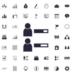 User profile icon vector