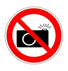 No photo camera icon 1004 vector image