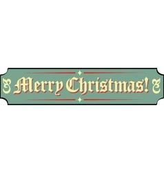 Santa Workshop Banner Signs vector image vector image