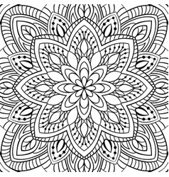 abstract filigree pattern vector image