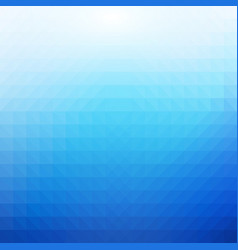 blue and white polygonal mosaic background vector image