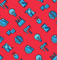 creative design seamless pattern vector image