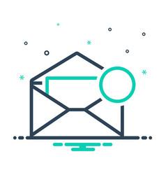 Inbox message vector