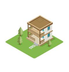 Isolated isomatic house property set vector
