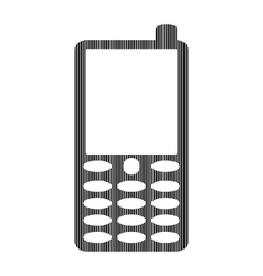 Phone sign on white vector image