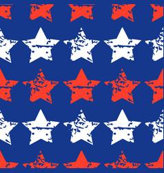 seamless star pattern modern stylish vector image