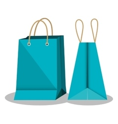 Shopping bags market isolated icon vector