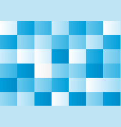 blue squares on white background vector image