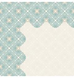 Calligraphic islam design elements Vintage vector image