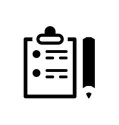 Check list icon eps file vector