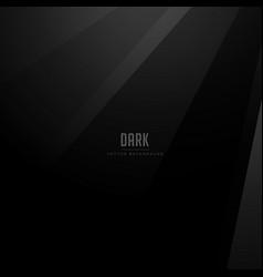 Dark background with black shades vector