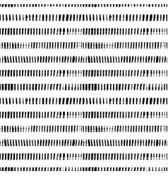 grunge short lines hand drawn seamless pattern vector image