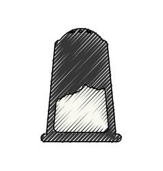 Salt shaker object vector