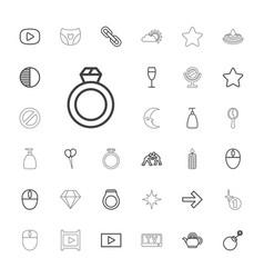 Shiny icons vector