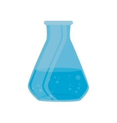 Test tube laboratory chemistry graphic isolated vector