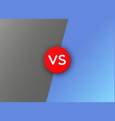 vs versus battle background vector image