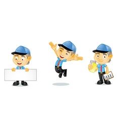 Postman 1 vector image vector image