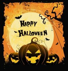 Spooky Halloween Card vector image vector image