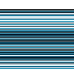 Blue abstract lines seamless pattern vector image