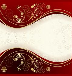 floral backgroundbackground vector image vector image